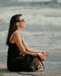 Wegen des Meers zum Yoga Retreat Bali