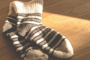 Yogasocken müssen nicht warm halten sondern rutschfest sein
